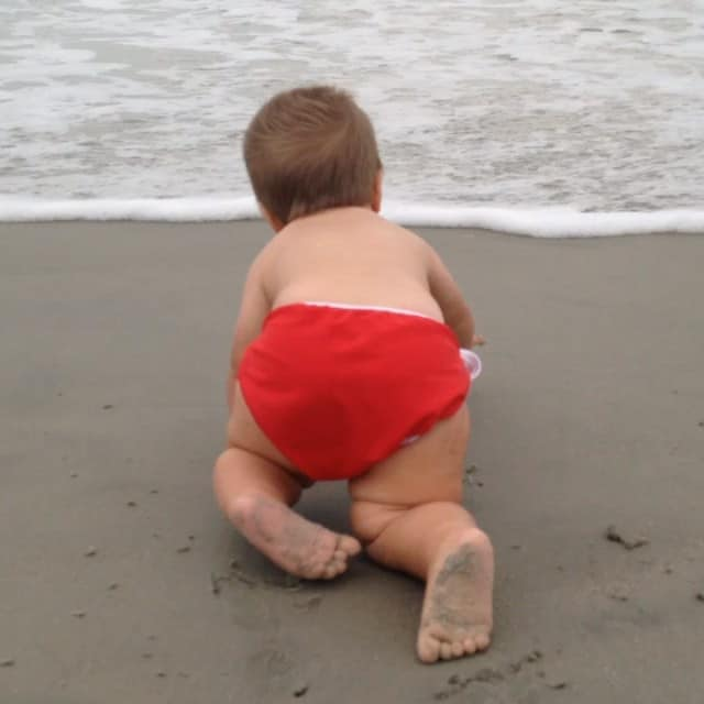 Oh boy going to be a tiring week! #beachbaby #jonathanrobert