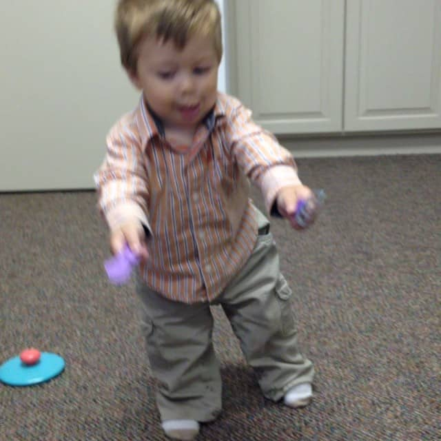 Getting good! #walking #11months #jonjon