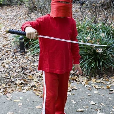 Halloween preparations and a DIY Ninjago Costume
