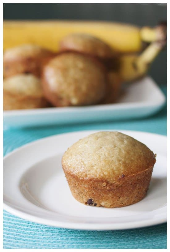 Easy Straw-Nana Muffins