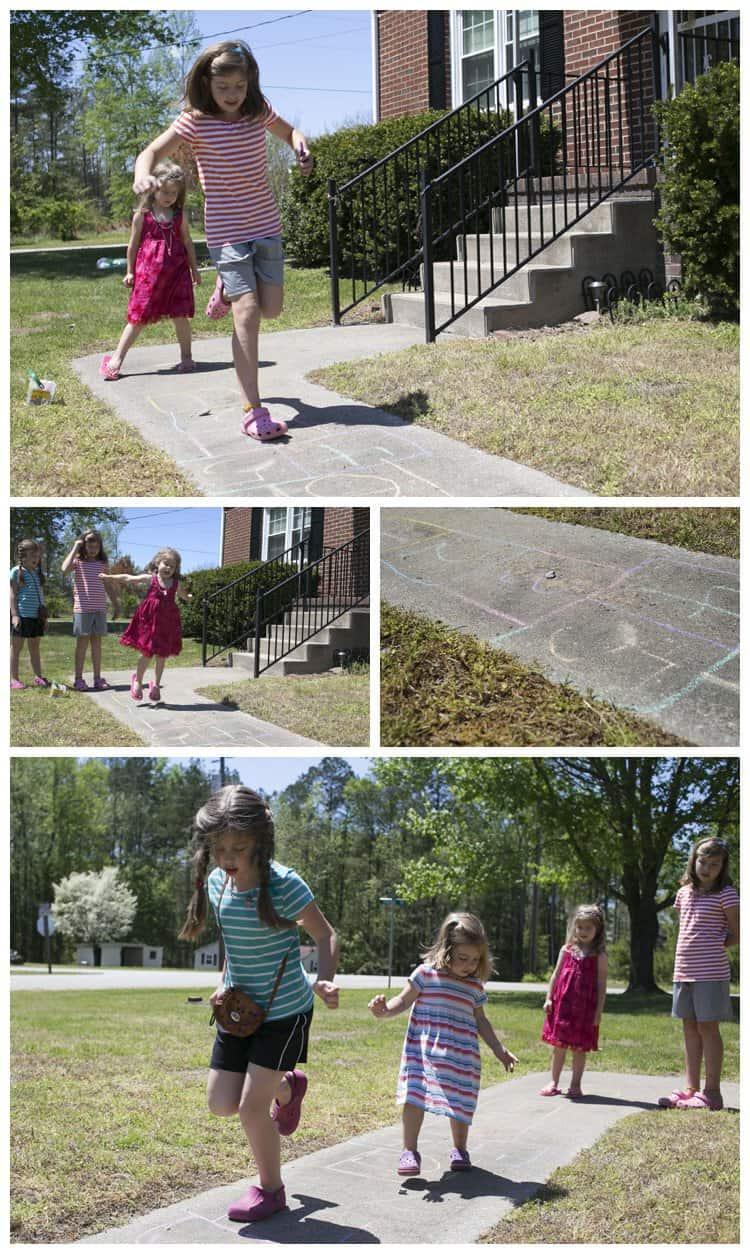 Girlhood Hopscotch