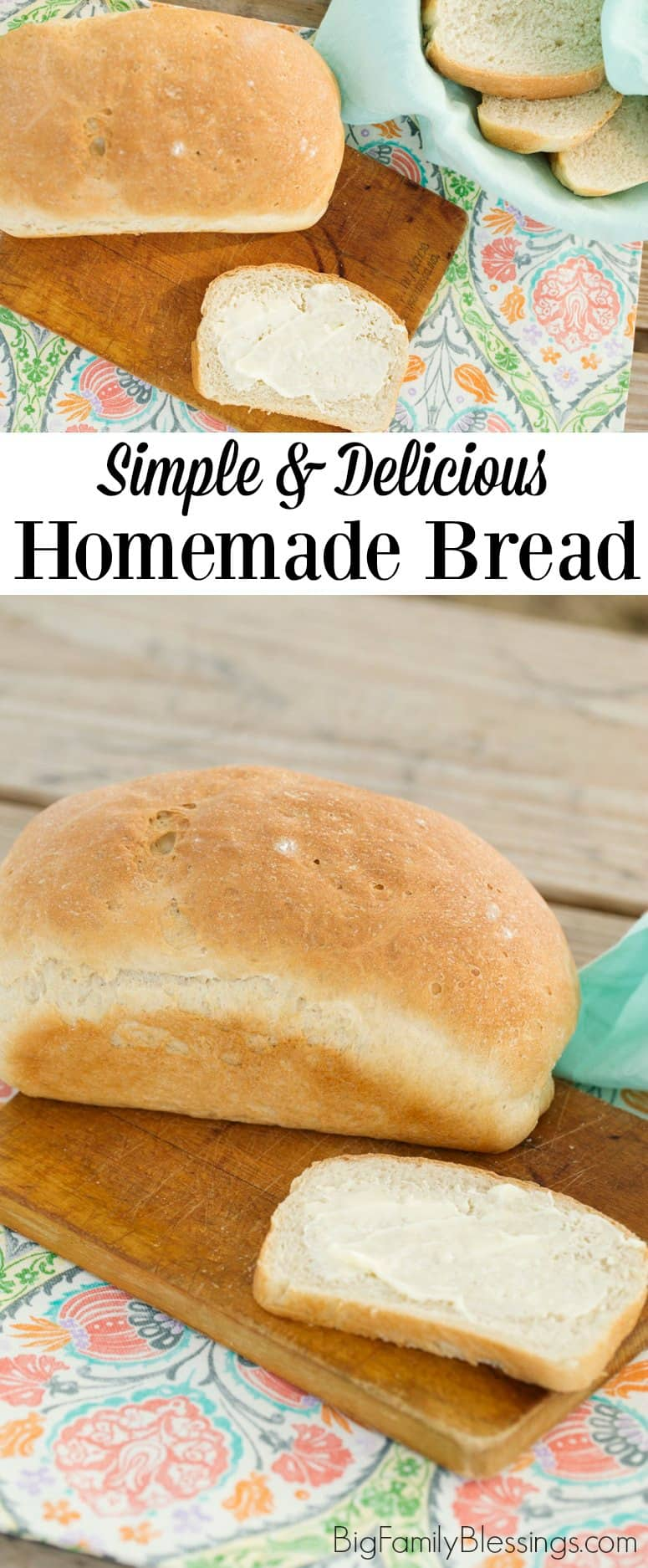 Best Ever Homemade Bread Recipe