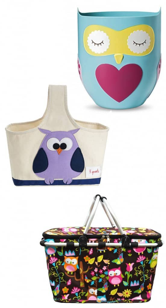Great Easter Baskets for an Owl Loving Girl