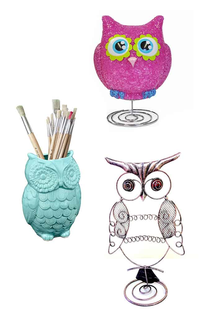 Great room accessories for an owl loving girl