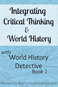 Integrating Critical Thinking and World History {review}