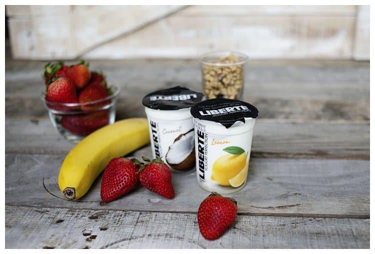 Virtually Guilt-Free Snacking {or breakfast} with Liberté® Méditerranée yogurt. What's your #yogurtperfection?