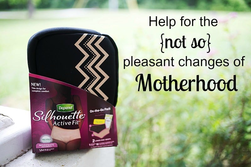 Help for the not so pleasant changes of motherhood