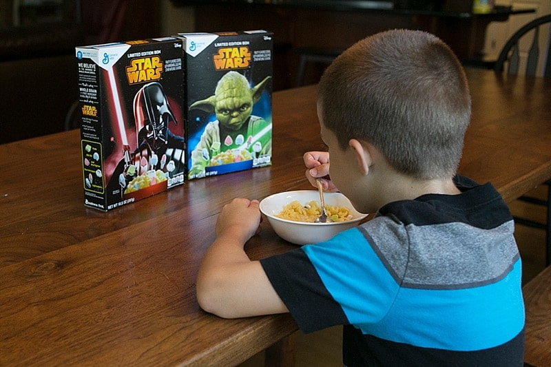Brand New Limited Edition Star Wars Cereal