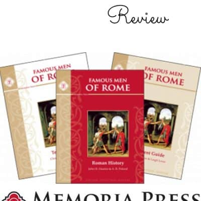 Famous Men of Rome Set by Memoria Press {Review}
