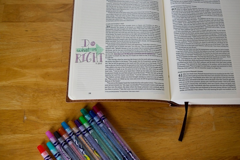 Bible Journaling for the beginner
