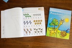 Horizons Preschool Curriculum Set Review
