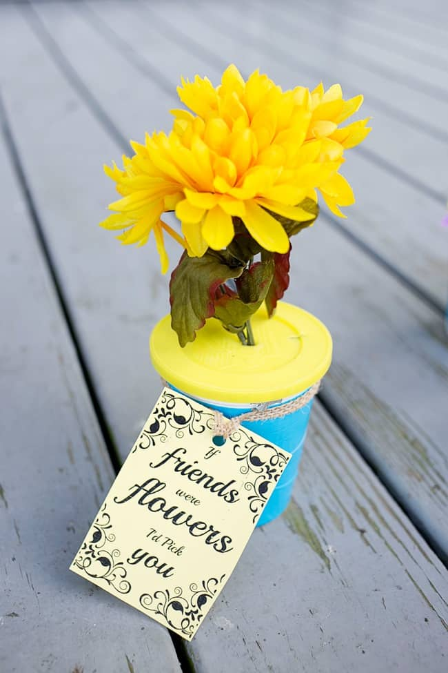 DIY Flower Pot Snacks- perfect diy snack for your daughter's next gathering of girlfriends!
