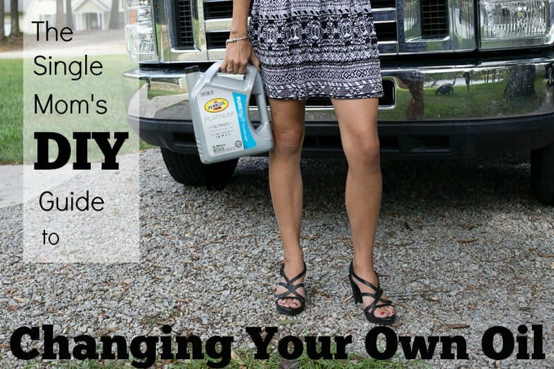 Single Mom's DIY Guide to Changing Your Own Oil