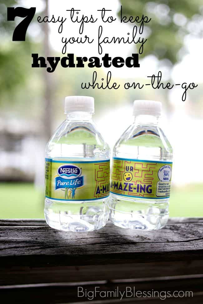 7 Tips to stay hydrated