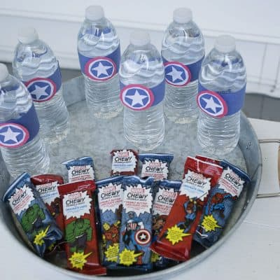 DIY Superhero Party Snack