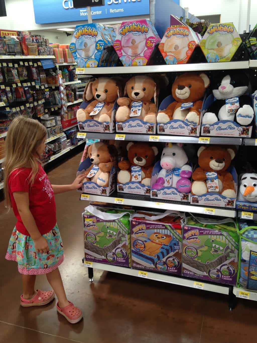 CloudPets™ at Walmart- find them on displayed near the front of the store. And don't forget to grab three AA batteries too!