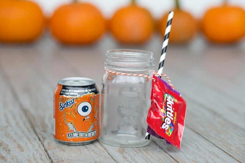 BOO it forward with an etched glass BOO mason jar