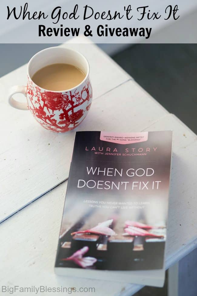 When God Doesn't Fix It Review and Giveaway