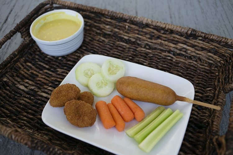 Ad: Easy Movie Night Dinner with Homemade Honey Mustard Dip