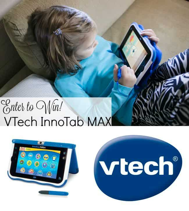 Enter to win an InnoTab MAX by VTech!