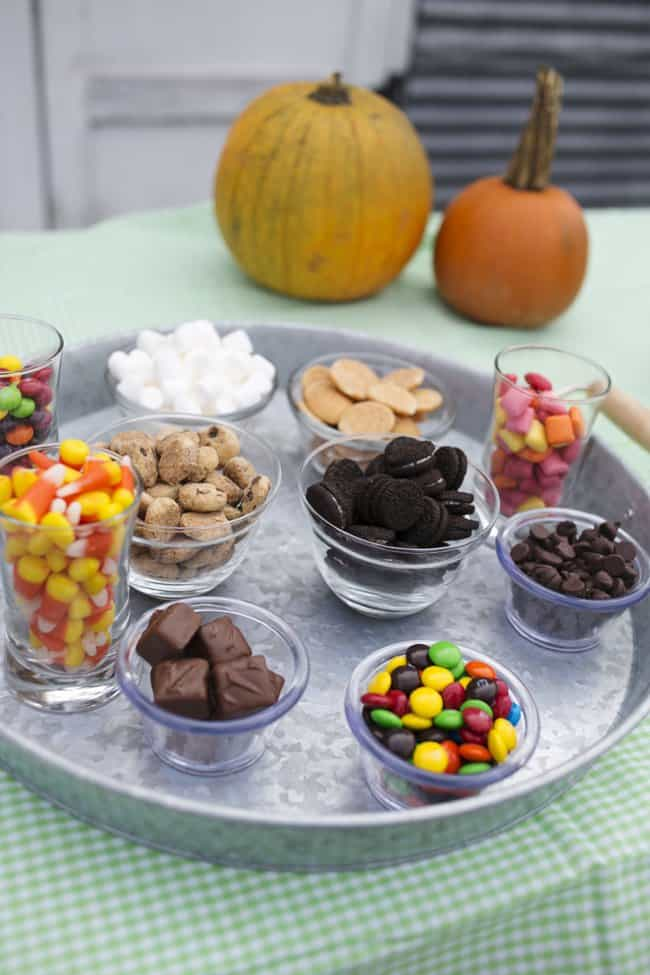 Leftover Candy Pudding Buffet