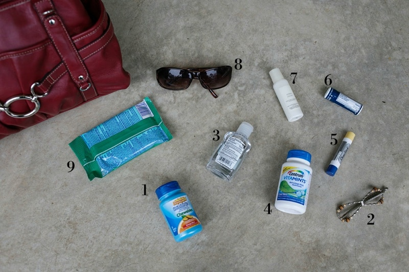 Purse Essentials for a Healthy Fall