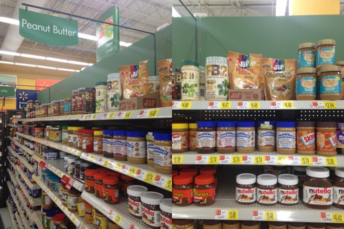 Jif Peanut Powder at Walmart