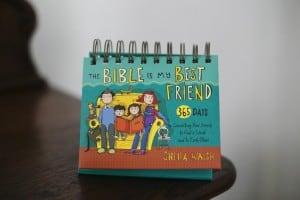 The Bible is My Best Friend Flip Calendar Review & Giveaway