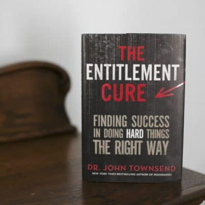 The Entitlement Cure Book Review and Giveaway