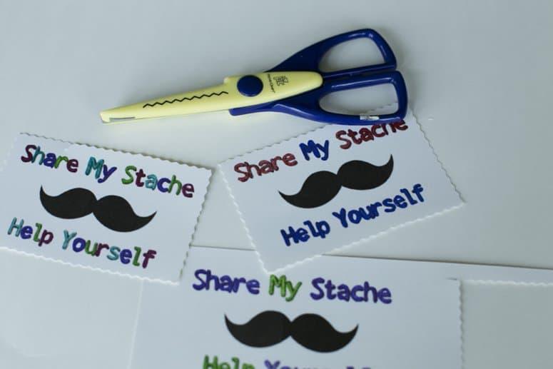 Share My Stache Gum Case