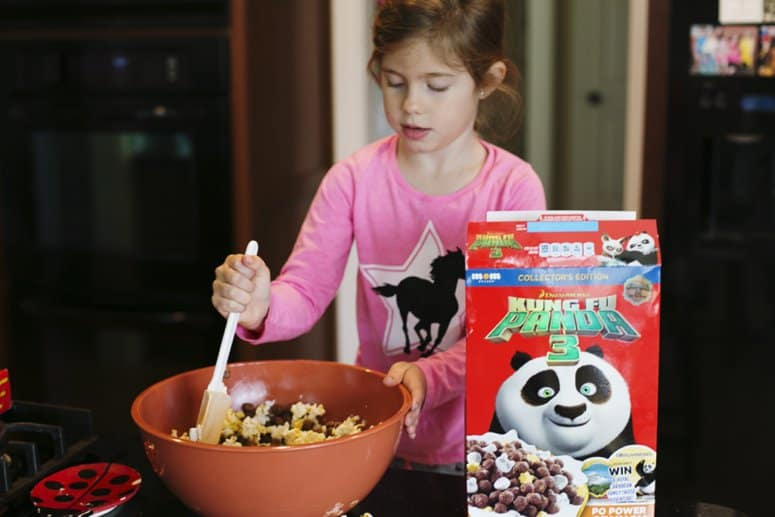 4 Ingredient Cereal Popcorn Balls