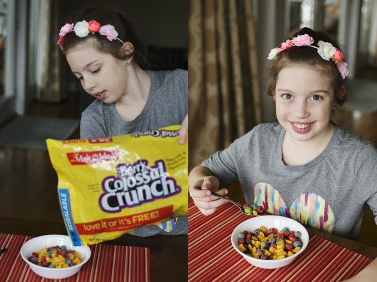 Cereal for picky eaters