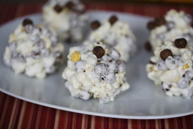 4 Ingredient Cereal Popcorn Balls