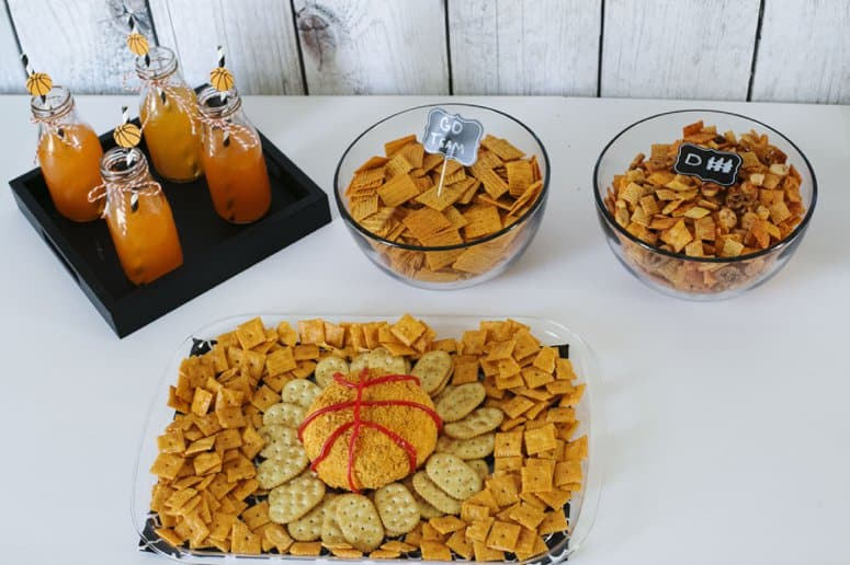 College Basketball snack table