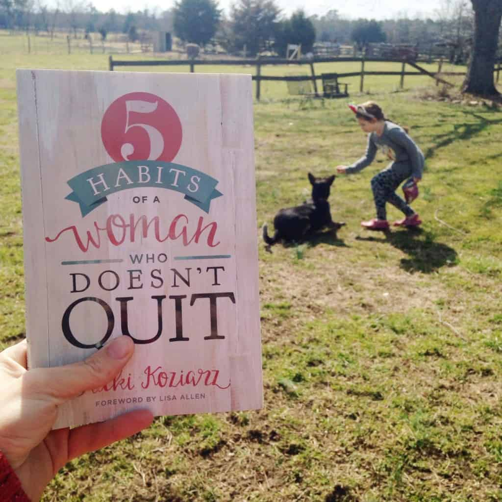 5 Habits of a Woman Who Doesn't Quit Giveaway