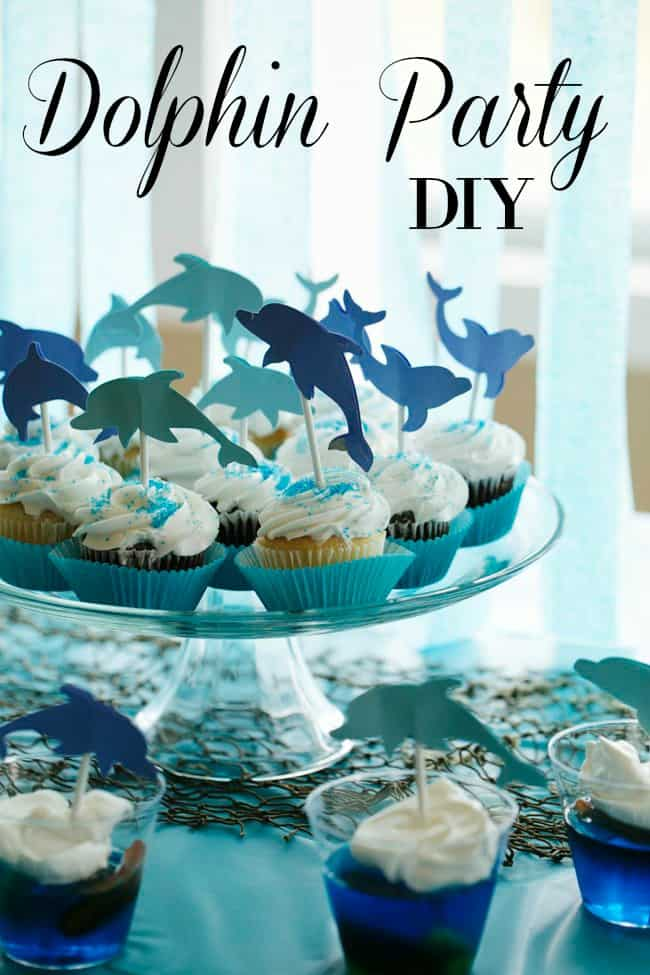 Easy and Inexpensive Dolphin Birthday Party DIY