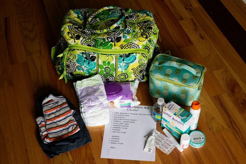 Be Prepared with a Vacation Wellness Kit
