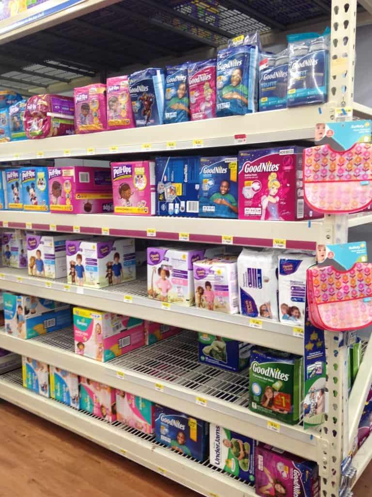 GoodNites at Walmart
