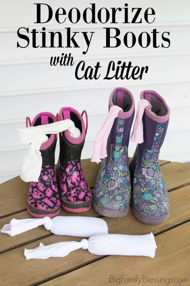 Kitty Litter Deodorizer