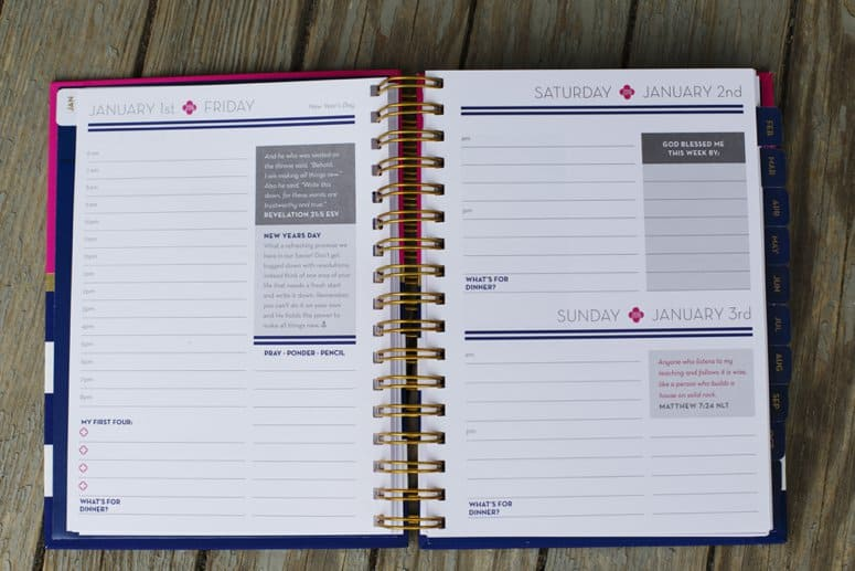 Anchored Press Planner