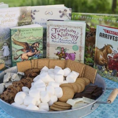 Encourage Summer Reading with Books and S'mores Night