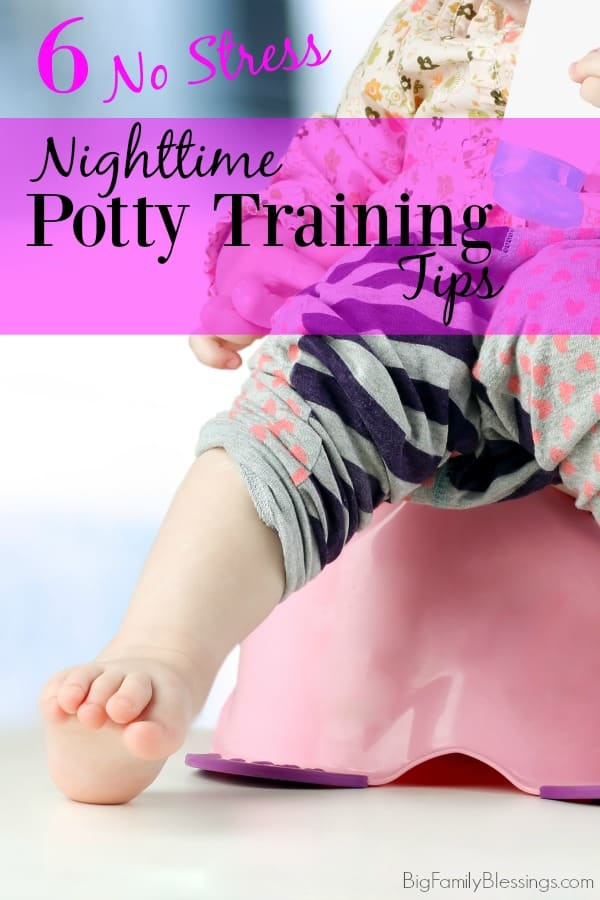 6 No Stress Tips for Nighttime Potty Training