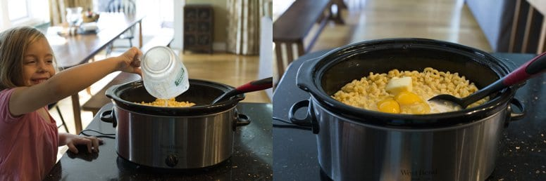 Creamy Slow Cooker Macaroni and Cheese
