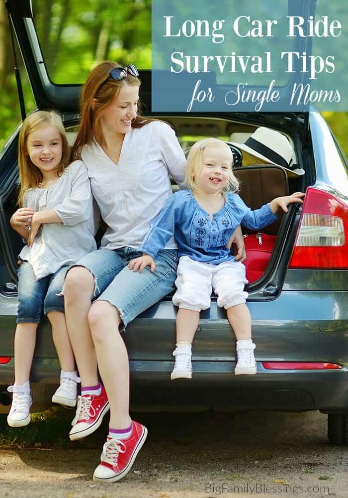 Long Car Ride Survival Tips for Single Moms