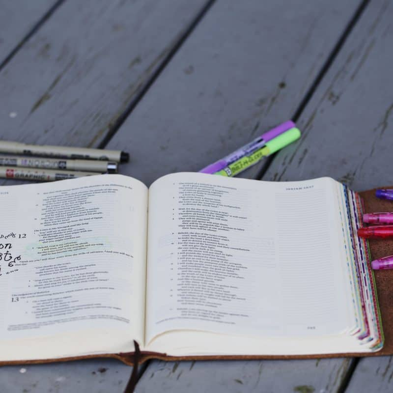 Bible Journaling for the Busy Mom