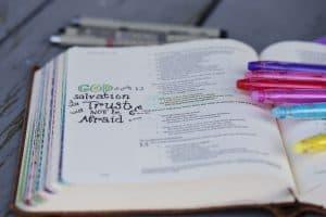 Free Bible Journaling Printable