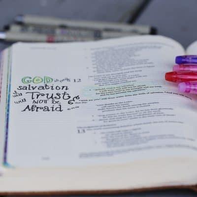 Free Bible Journaling 'to journal' Printable!