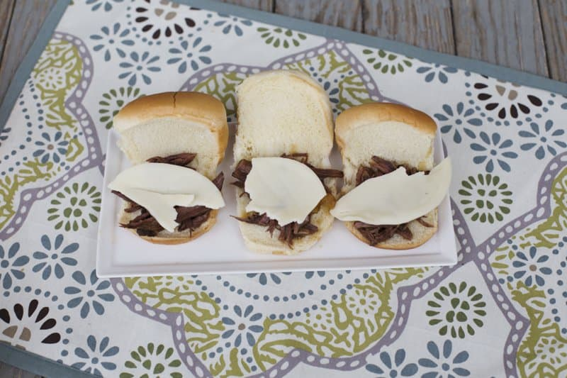 French Dip Crock Pot Sandwiches