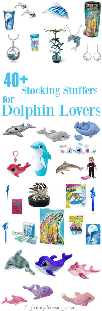 40+ Stocking Stuffers for Dolphin Loving Girls