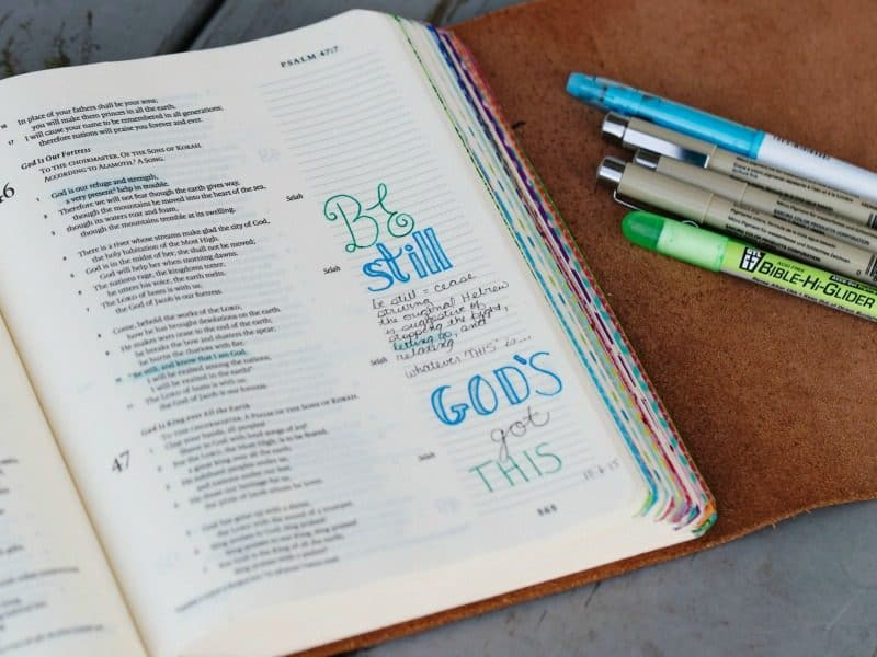 How to Start Bible Journaling Right Now